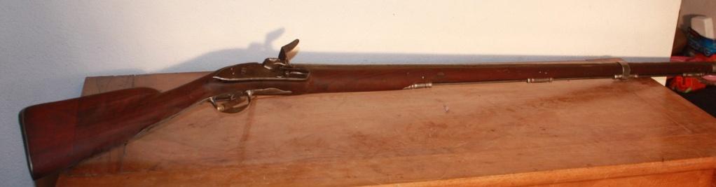 """Fusil """"genre 1717"""". Silex313"""
