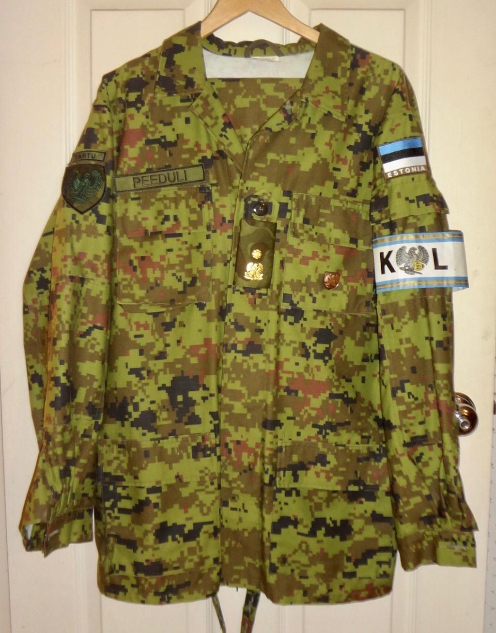 Estonian Defense League uniforms Dsc00917