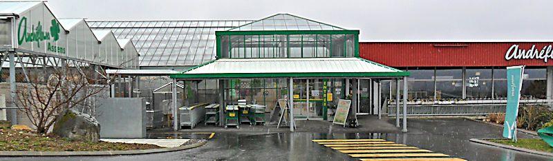 Garden Center ANDREFLEURS à Assens (VD) Jardin10