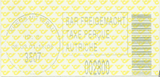 Bar-Codes in Österreich Krems210