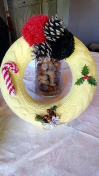 Décorations de Noël en laine 45638211