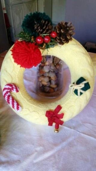 Décorations de Noël en laine 45643510