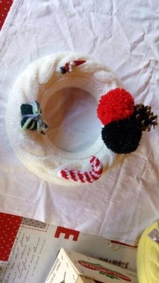 Décorations de Noël en laine 45650810