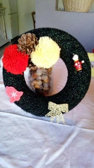 Décorations de Noël en laine 45683710