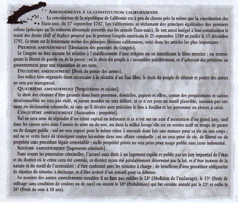 L.A.P.D. BLUES - Les annexes Amende10