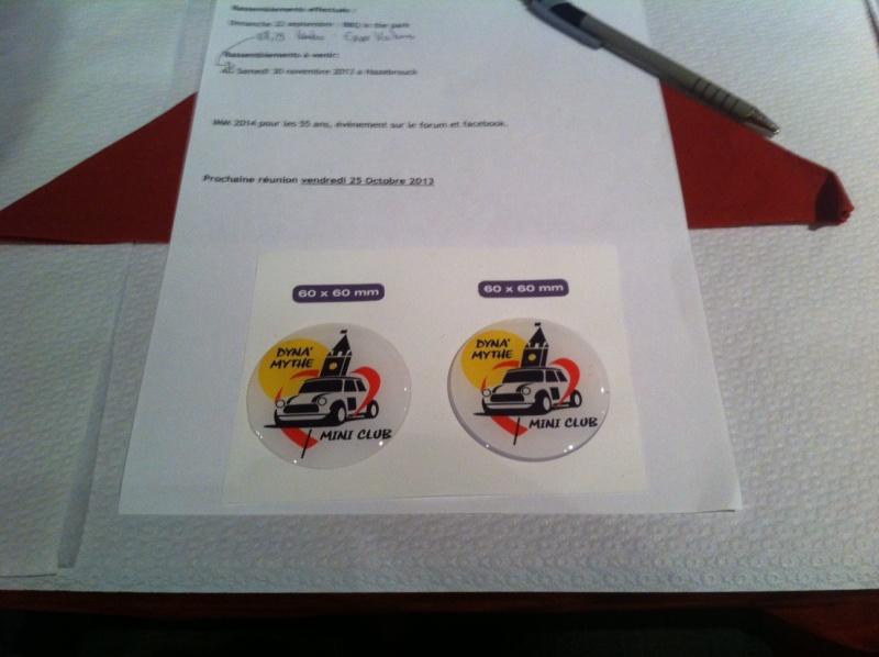 Badges roues pour DMC 60x60 Photo10