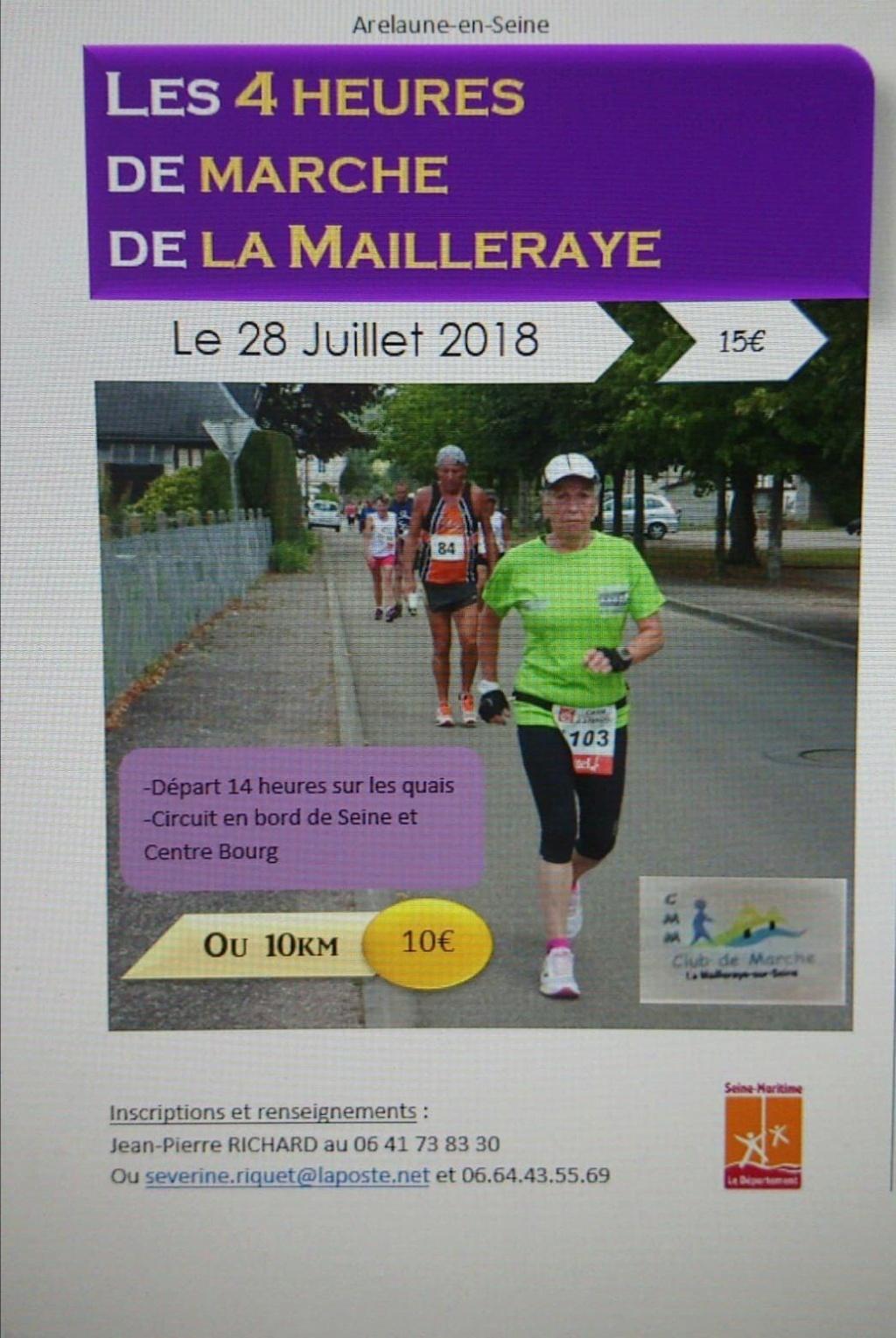 4 Heures de  marche la Mailleraye 37253610