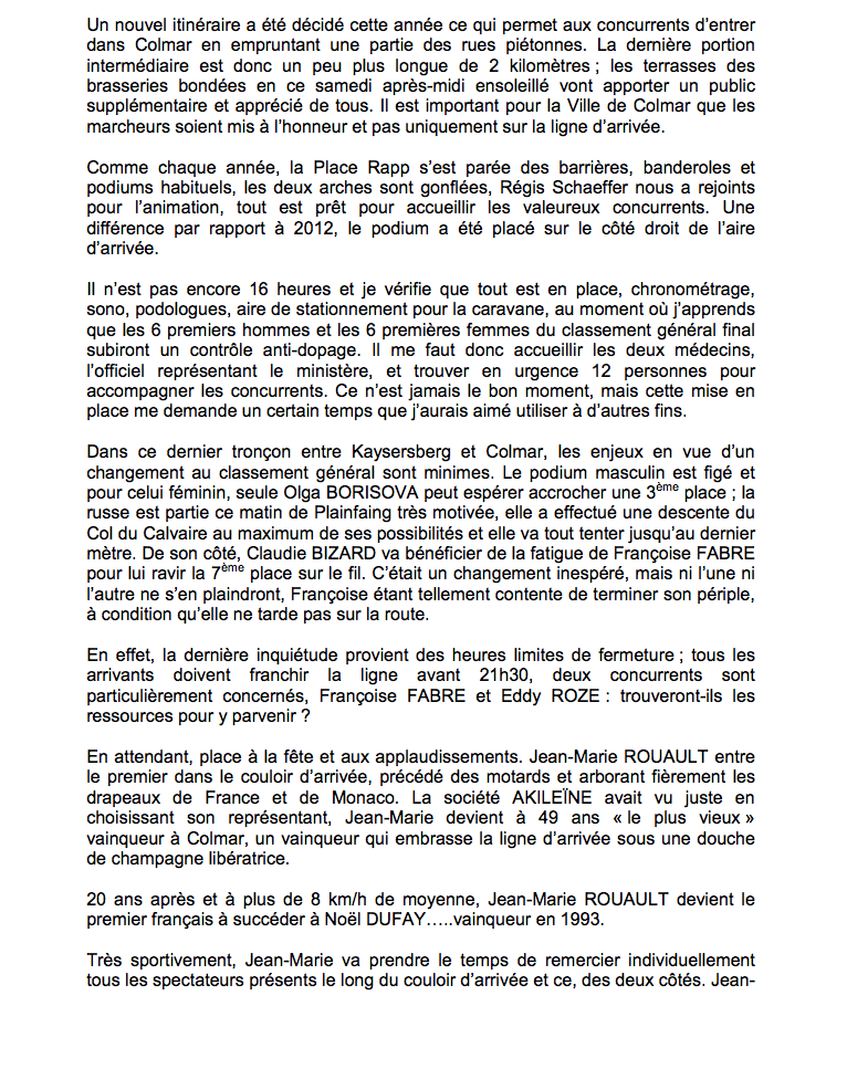 Jean CECILLON  (résumé de Paris-Colmar 2013) - Page 2 3811