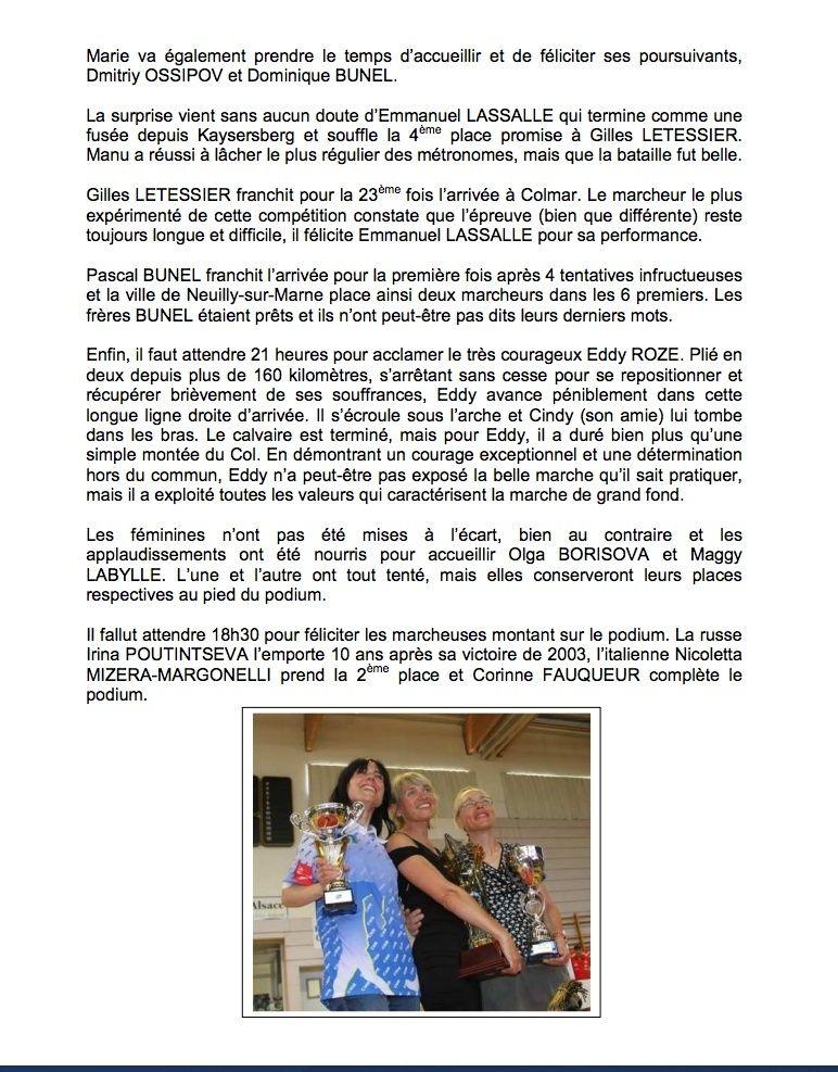 Jean CECILLON  (résumé de Paris-Colmar 2013) - Page 2 3910