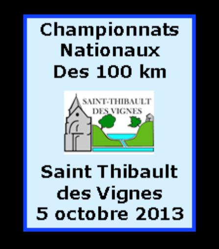 Championnats  Nationaux des  100km 2013 Affich11