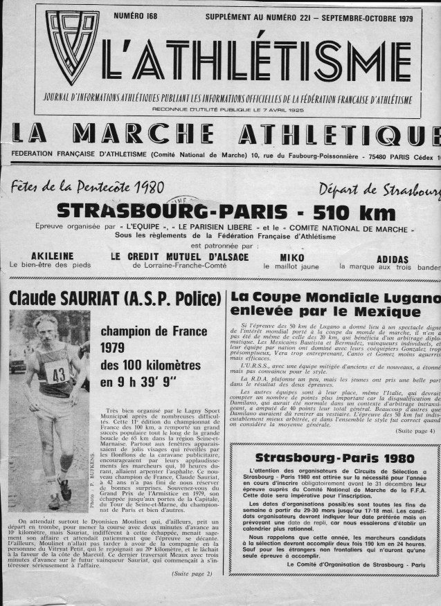 Claude Sauriat  champion de France Claude10