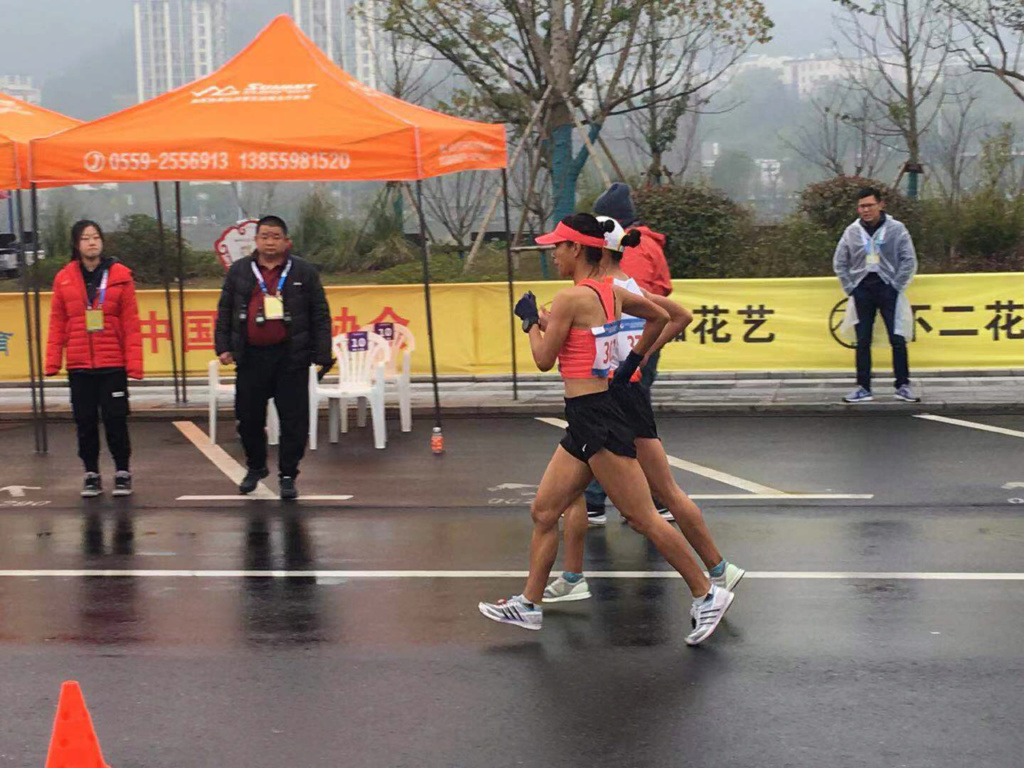 Liu Hong in the history - 50km in 3:59:15 Hunags10
