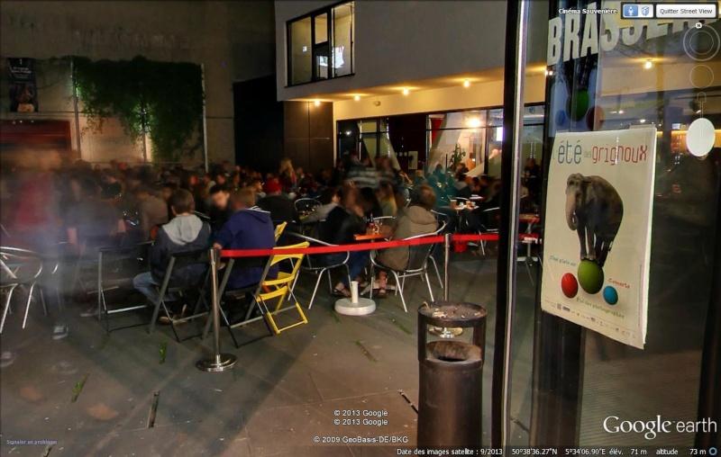 Street View : Protéger son anonymat à tout prix , quitte à être ridicule , Liège ( Belgique ) Grigno11