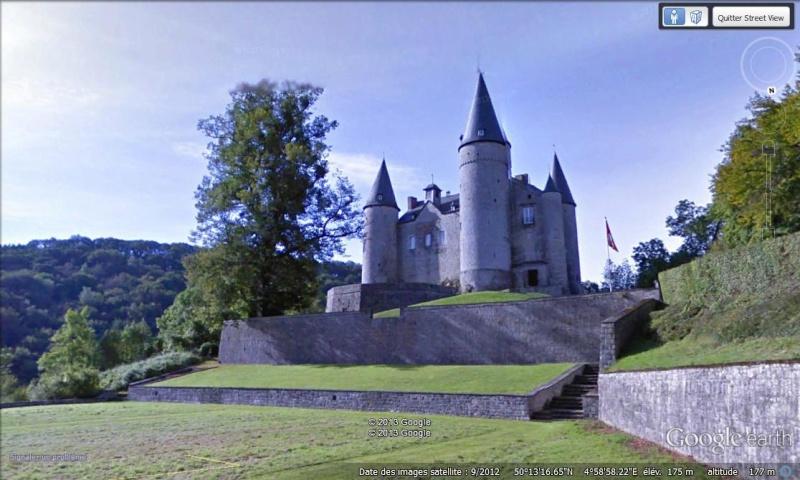 STREET VIEW : les parcs de grands châteaux de Belgique désormais disponibles ! Vaves10