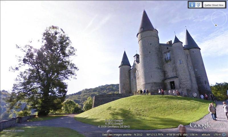 STREET VIEW : les parcs de grands châteaux de Belgique désormais disponibles ! Vaves_10