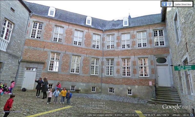 STREET VIEW : les parcs de grands châteaux de Belgique désormais disponibles ! Vaves_11
