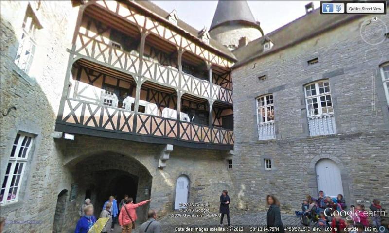 STREET VIEW : les parcs de grands châteaux de Belgique désormais disponibles ! Vaves_14