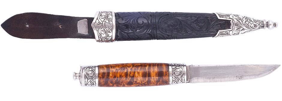 """Identification : couteau  type  """"SGIAN DUBH"""" ecossais ou autre? Telema10"""