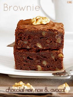 Brownies à l'avocat..... Browni10