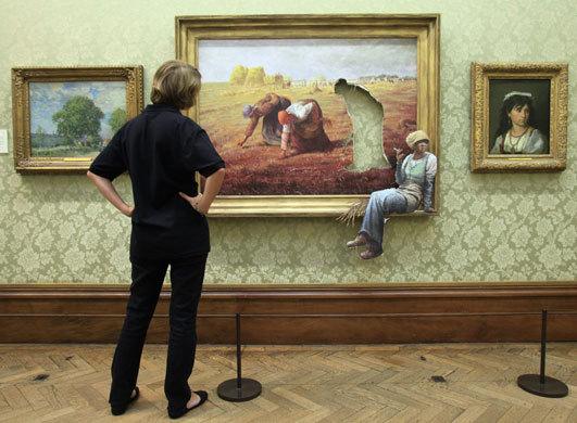 Bansky, grapheur et détourneur Banksy11