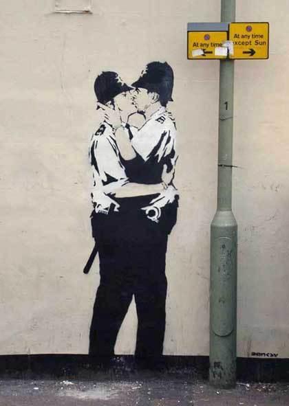 Bansky, grapheur et détourneur Banksy13