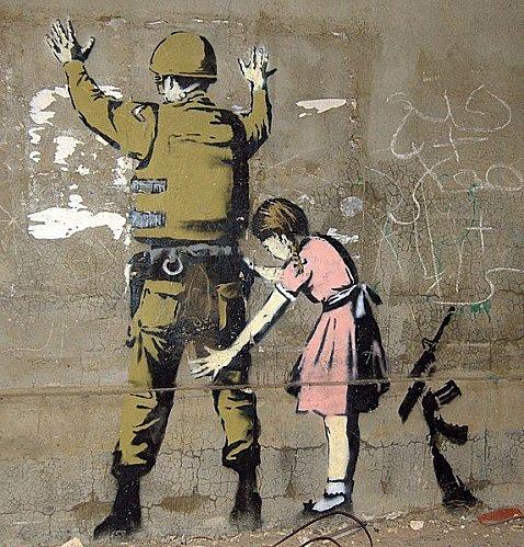 Bansky, grapheur et détourneur Banksy14
