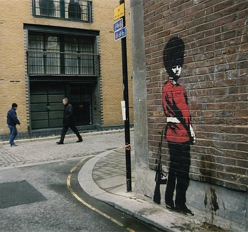 Bansky, grapheur et détourneur Banksy15