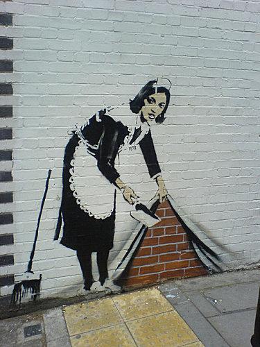 Bansky, grapheur et détourneur Banksy16