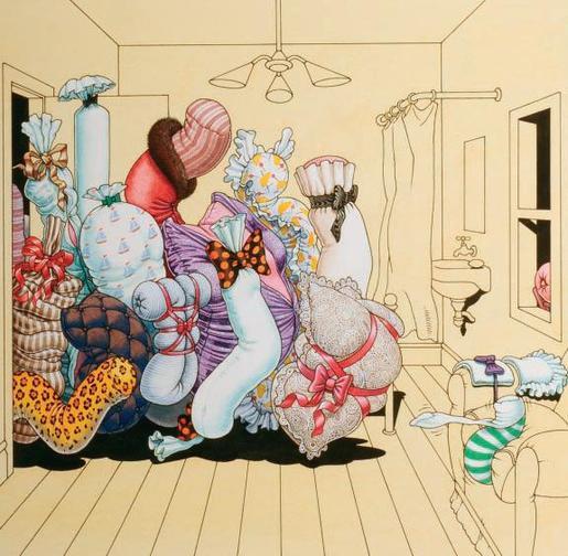 femmes inattendues pour illustrateurs diaboliques Gilles10
