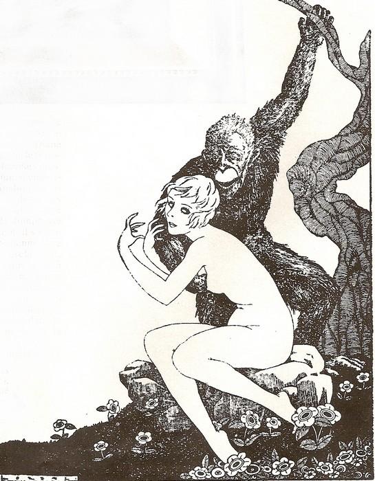 Poulpe fiction Singe-10