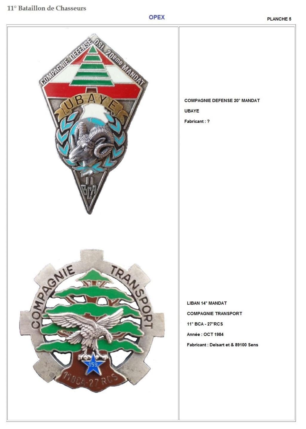 Les insignes de bataillons- Mise à jour... 11e_pl14