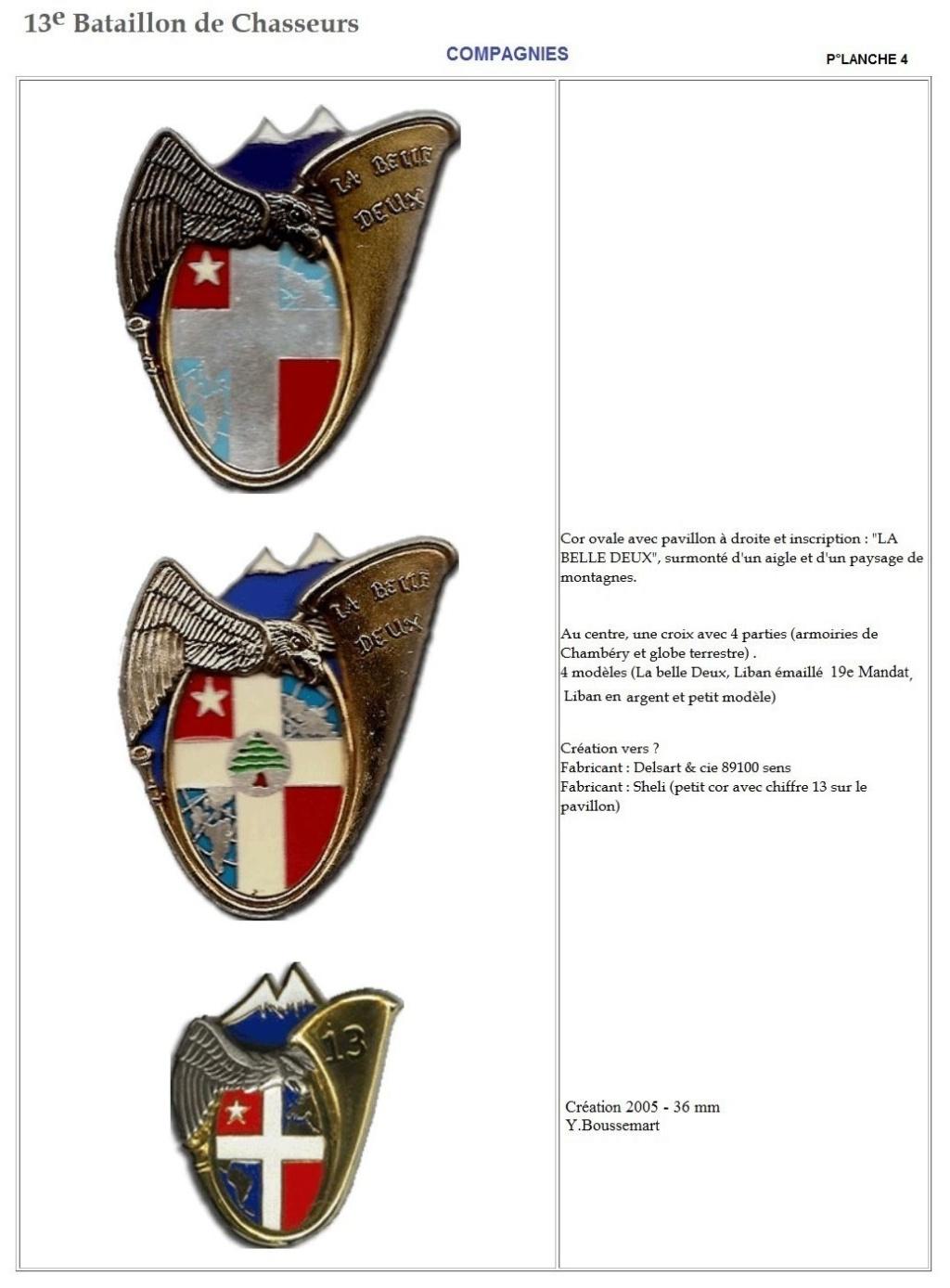 Les insignes de bataillons- Mise à jour... - Page 2 13e_pl27