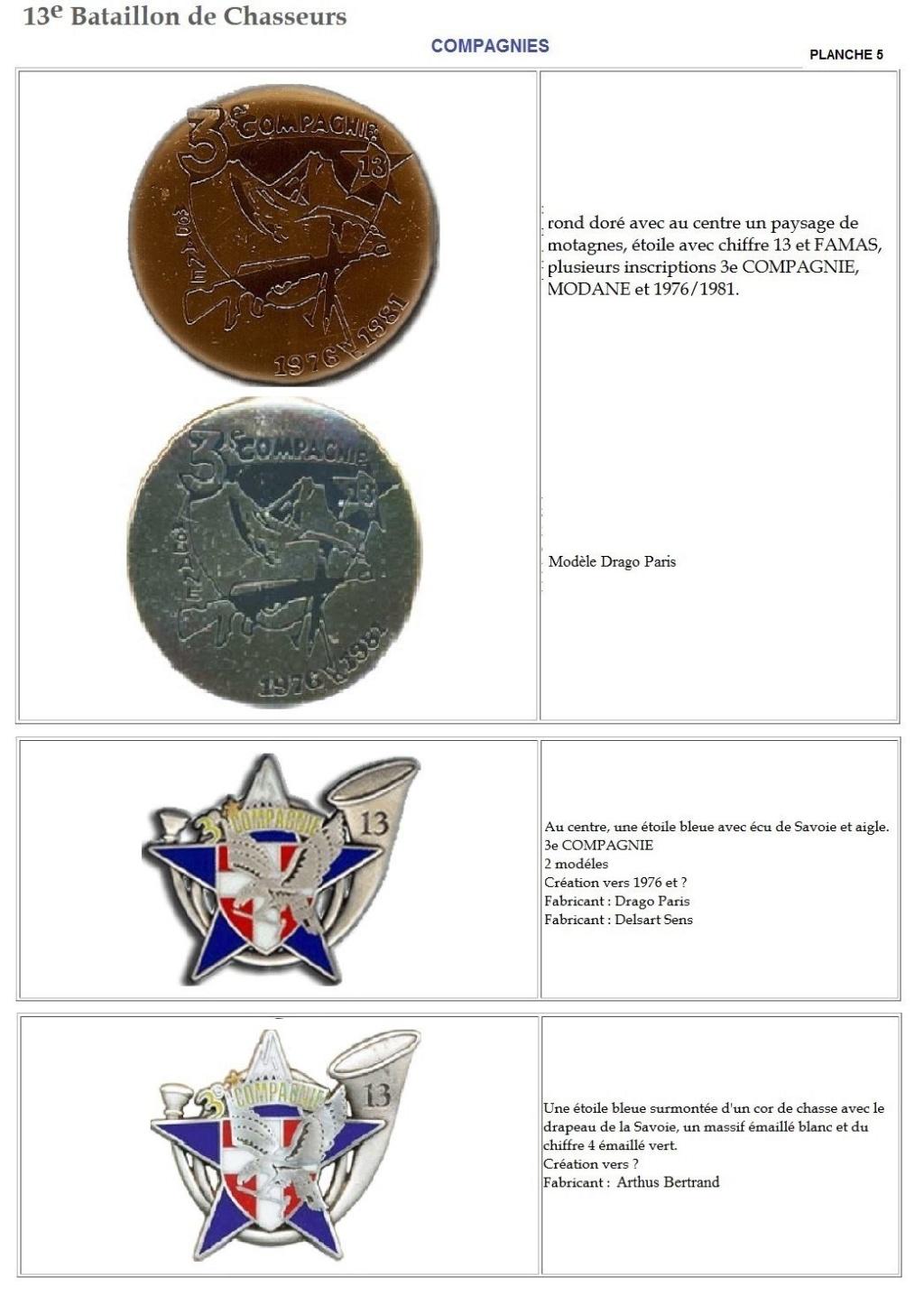 Les insignes de bataillons- Mise à jour... - Page 2 13e_pl28