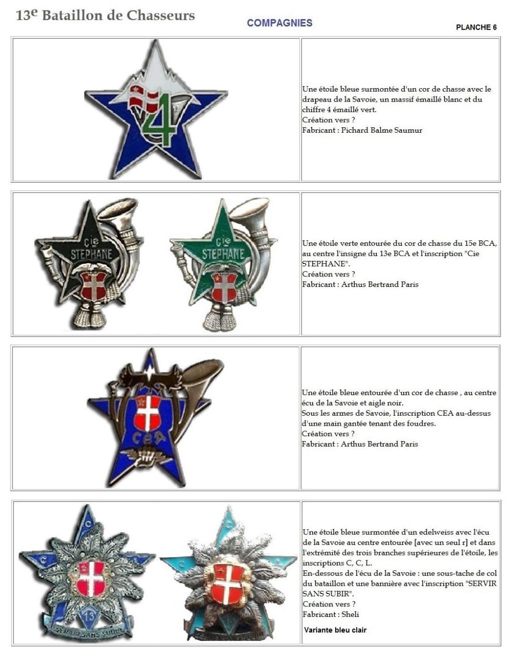Les insignes de bataillons- Mise à jour... - Page 2 13e_pl29