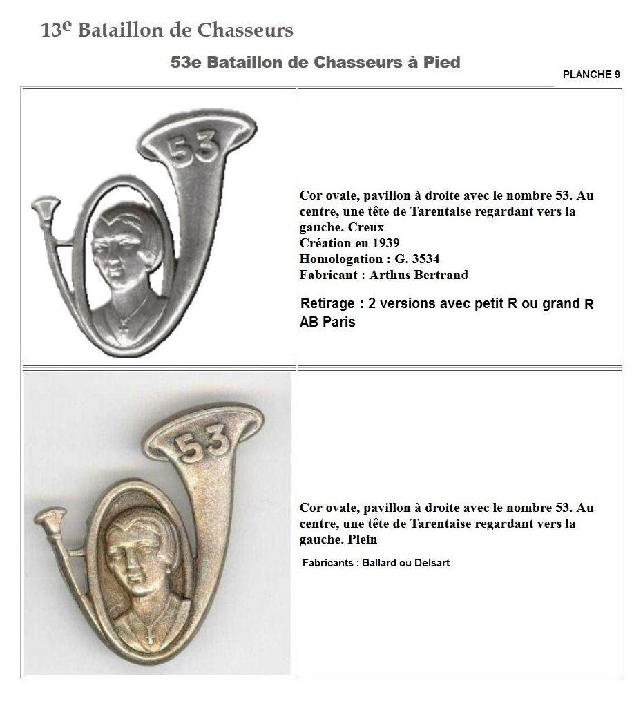 Les insignes de bataillons- Mise à jour... - Page 2 13e_pl31