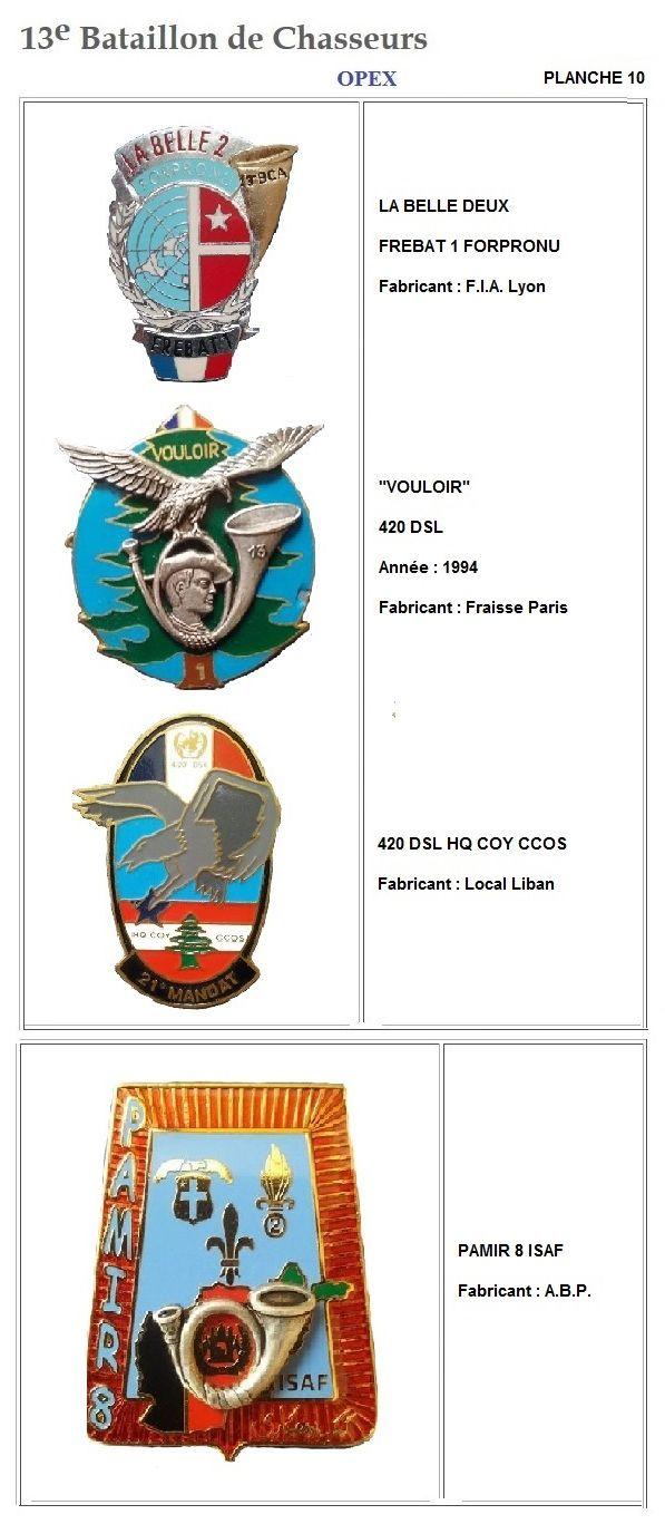 Les insignes de bataillons- Mise à jour... - Page 2 13e_pl33