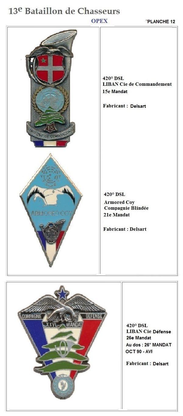 Les insignes de bataillons- Mise à jour... - Page 2 13e_pl35