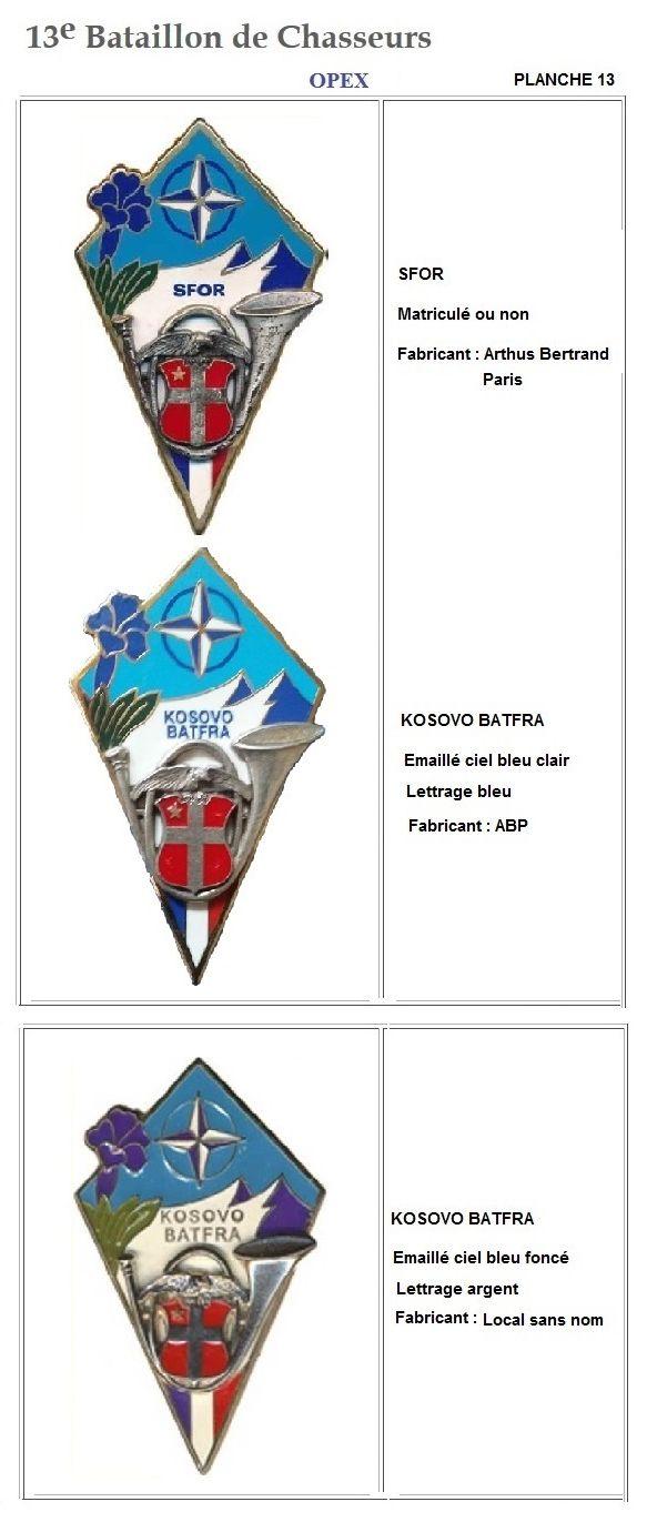 Les insignes de bataillons- Mise à jour... - Page 2 13e_pl36