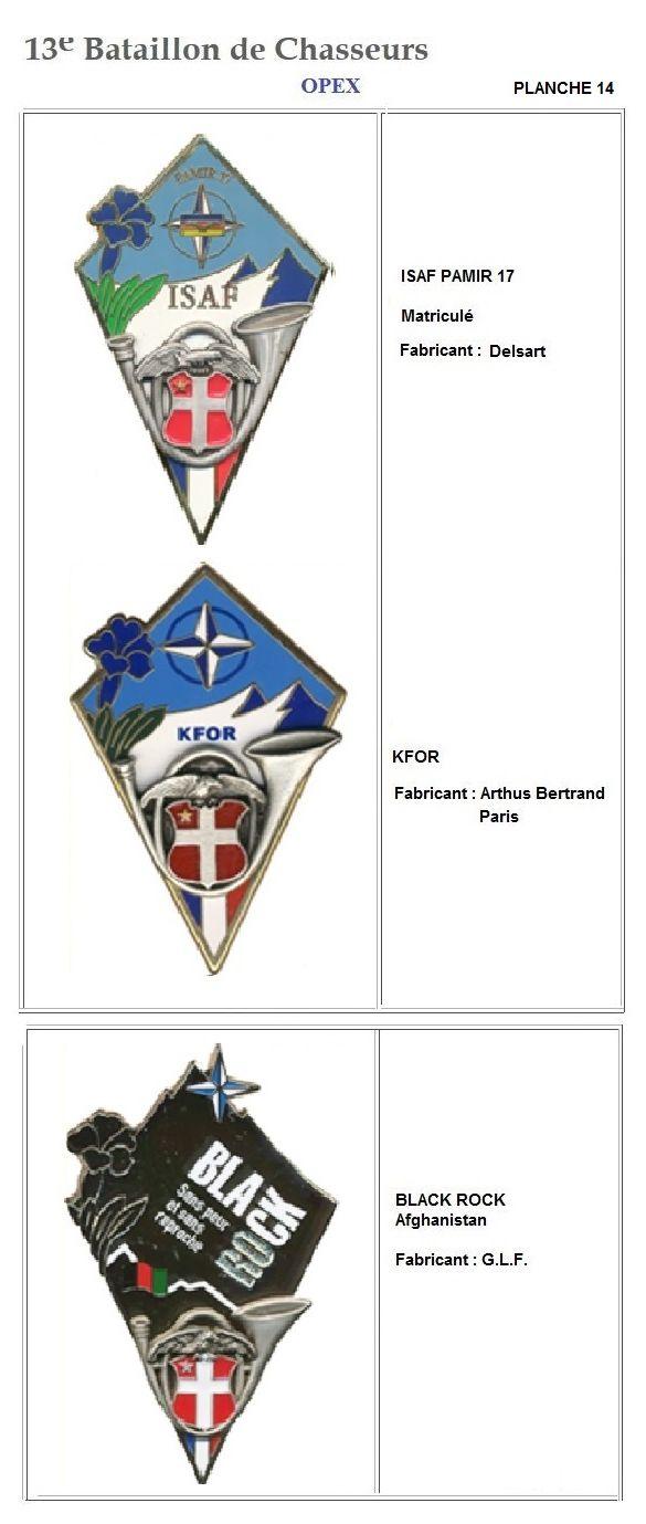 Les insignes de bataillons- Mise à jour... - Page 2 13e_pl37