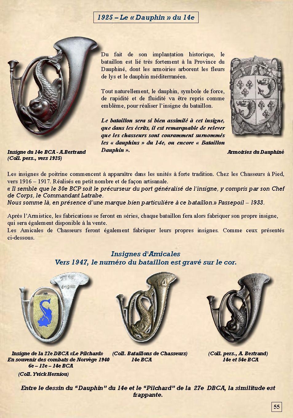 Les insignes de bataillons- Mise à jour... - Page 2 14e_pl11