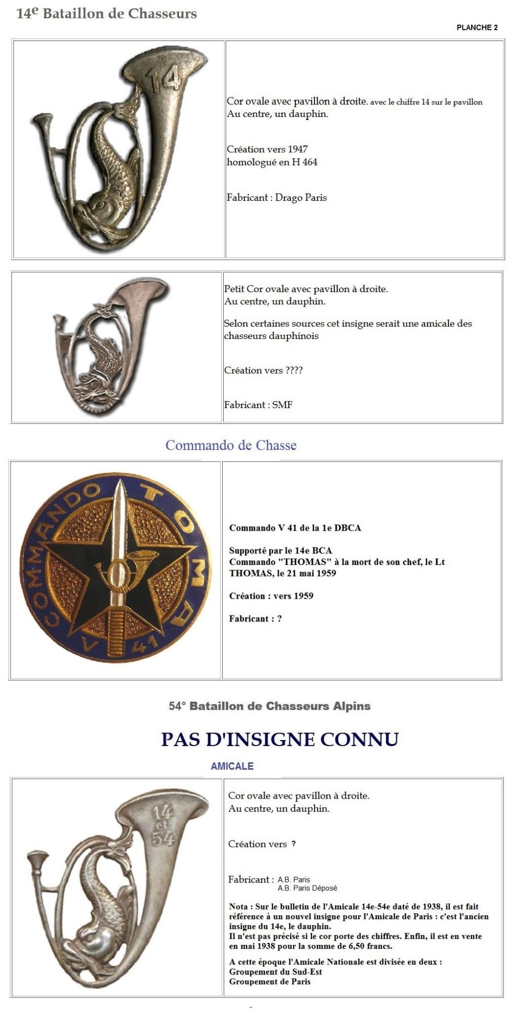 Les insignes de bataillons- Mise à jour... - Page 2 14e_pl12