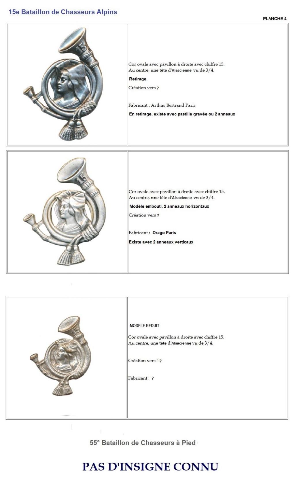 Les insignes de bataillons- Mise à jour... - Page 2 15e_pl14