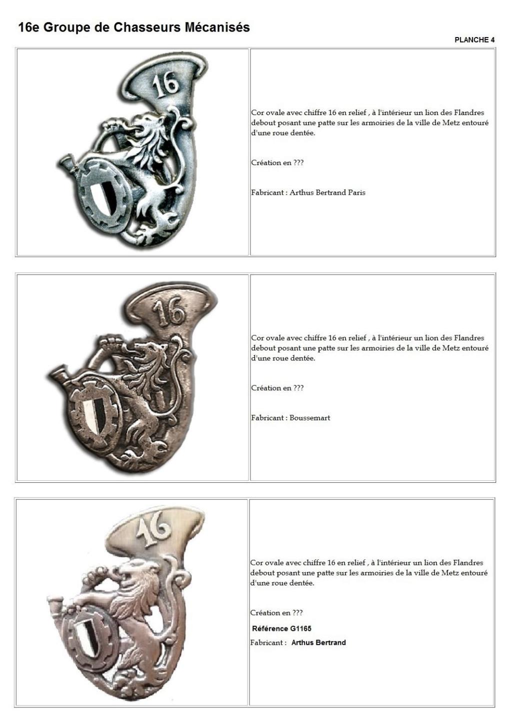 Les insignes de bataillons- Mise à jour... - Page 2 16e_pl13