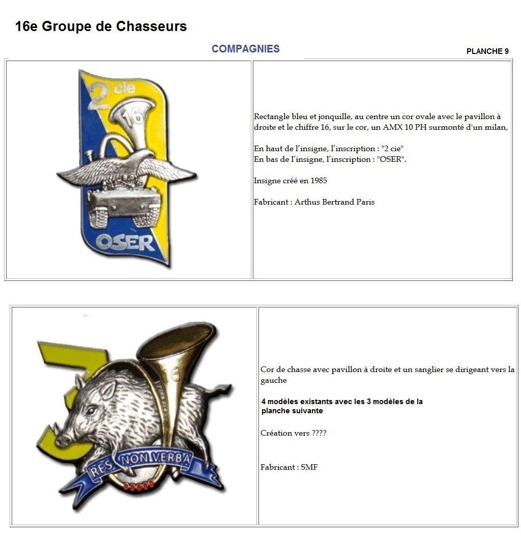 Les insignes de bataillons- Mise à jour... - Page 2 16e_pl16