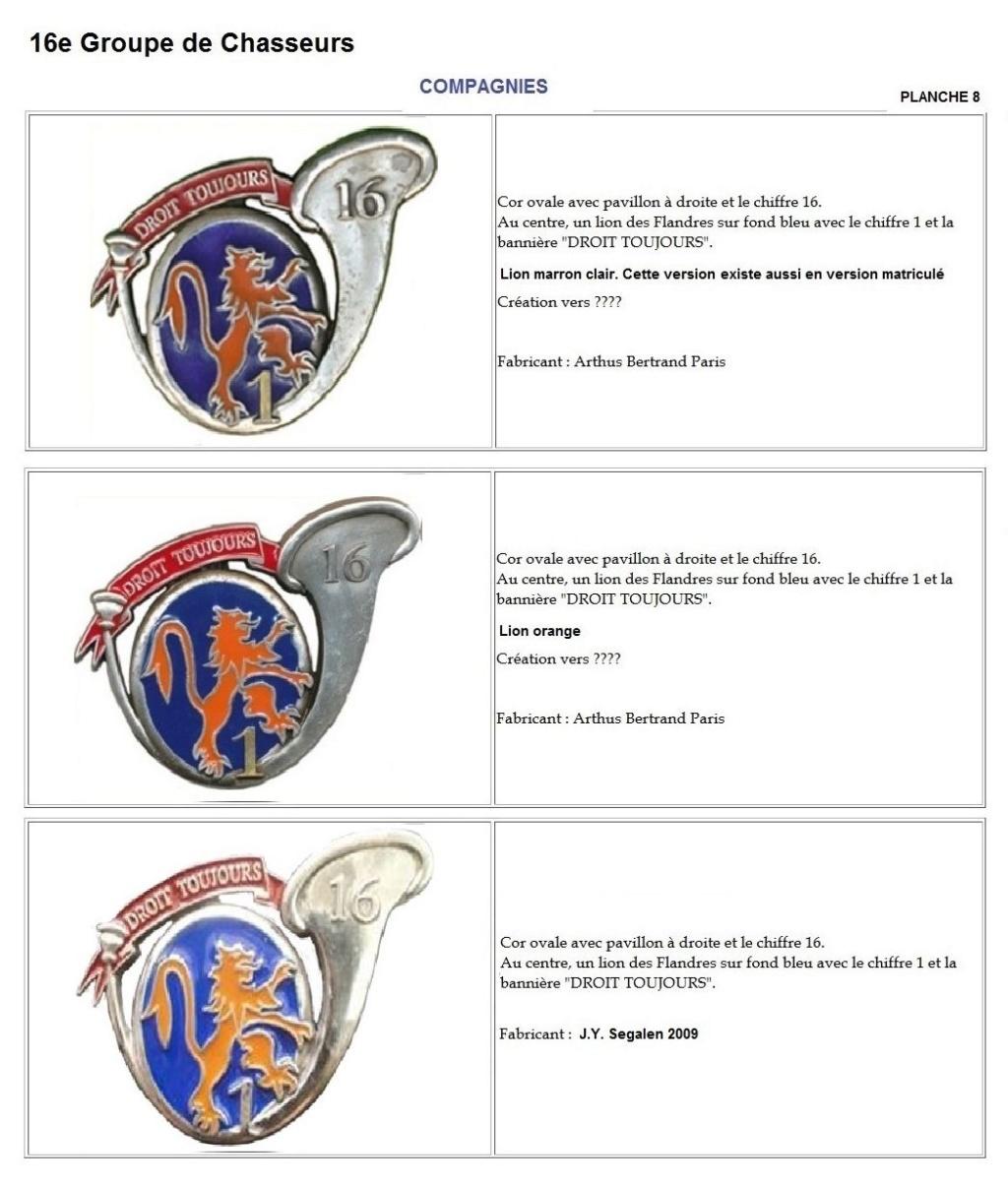 Les insignes de bataillons- Mise à jour... - Page 2 16e_pl18