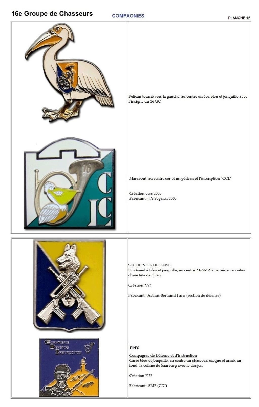 Les insignes de bataillons- Mise à jour... - Page 2 16e_pl20