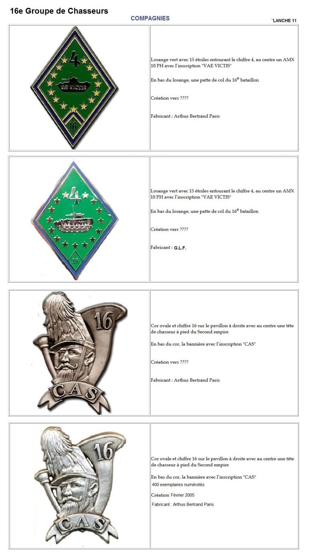 Les insignes de bataillons- Mise à jour... - Page 2 16e_pl21