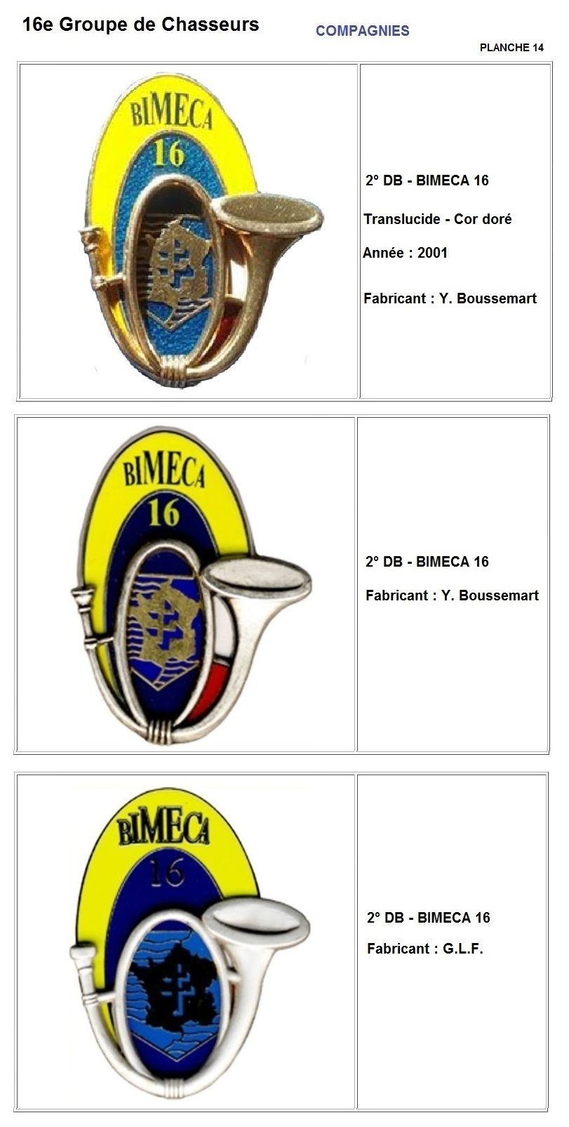 Les insignes de bataillons- Mise à jour... - Page 2 16e_pl22