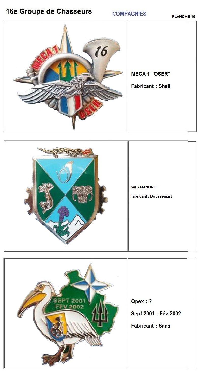 Les insignes de bataillons- Mise à jour... - Page 2 16e_pl23