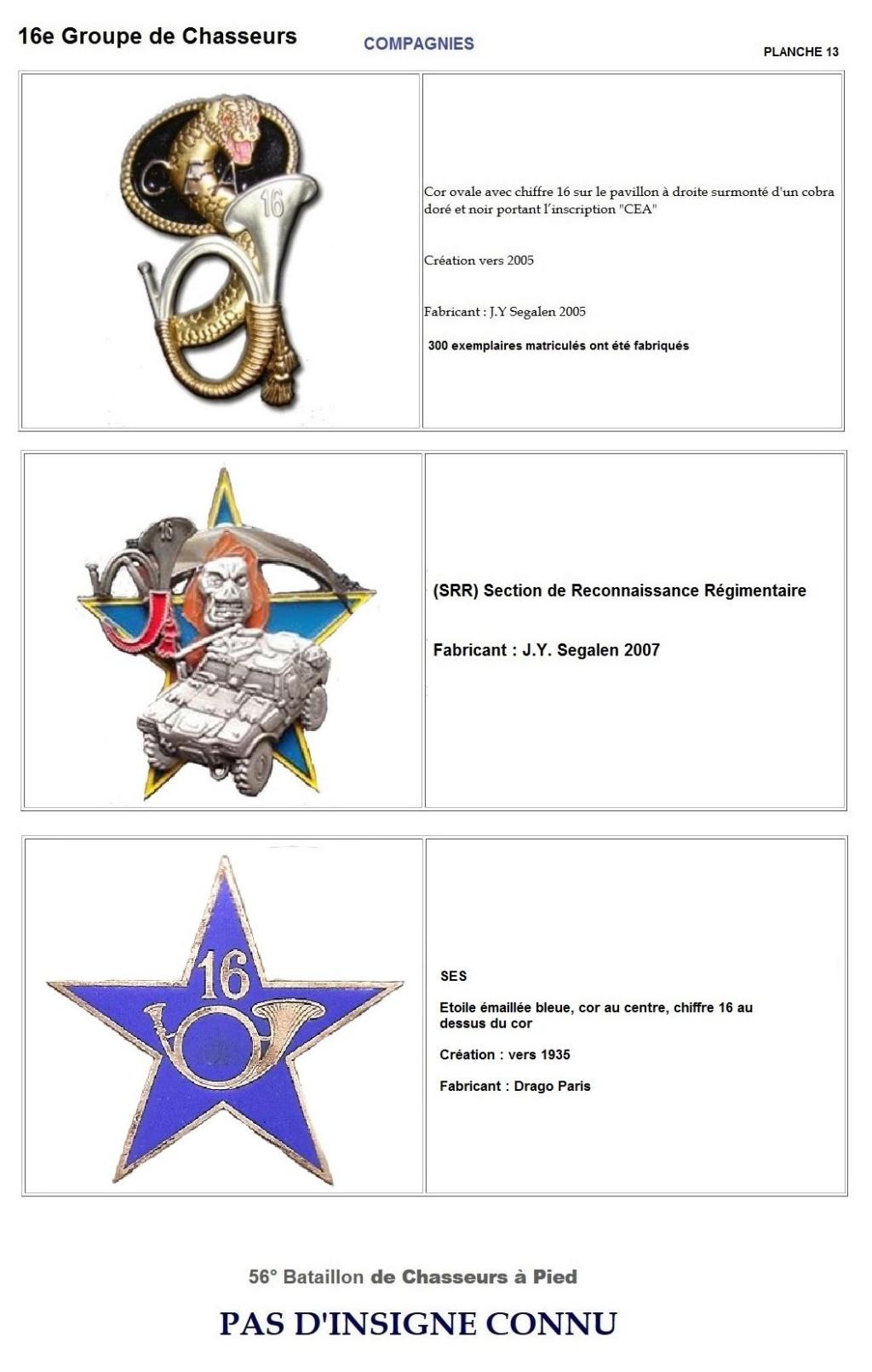 Les insignes de bataillons- Mise à jour... - Page 2 16e_pl24
